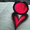 Sel: book heart