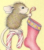 Christmas House Mouse
