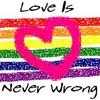 portland rainbow heartflag