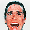 patrick bateman, christian bale, american psycho