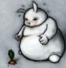 заяц-сумоист