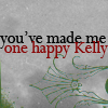 Kelly (Kalliopi) aka Yllektra: text: you made me one happy kelly
