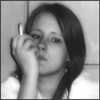 я, скептик, тень, сигарета