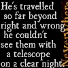 books neverwhere see right/wrong telesco