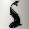 Kimberley Verburg: black fish