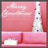 seasonal // Merry Christmas pink