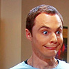 BBT Sheldon creepy smile