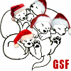 no pseud attached: santa-hatted -- gsf -- rikes
