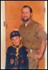Dad me Scout