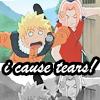 I cause tears! // Naruto