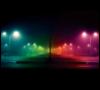 цветные фонари