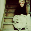 marilyn on stairs