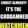 goddamned watchmen by sandoz-iscariot