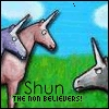 shun the nonbeliever!