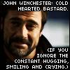 maychorian: John W - cold-hearted bastard