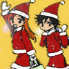 Orihime and Tatsuki Christmas