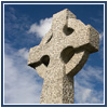 cross gravestone and sky