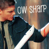 I am never merry when I hear sweet music: SPN: ow sharp!