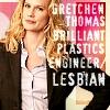 [30 Rock] Gretchen Thomas - Lesbian
