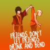 America's Next Top Hermit: atla: no drunk bending