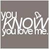 You ♥ Me.