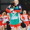 miss super-duper crime-fighting goody two-shoes: håndball: katrine & terese ● goalieslash