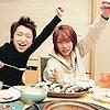 Arashi ☂ Aiba/Ohno YAY FOOD