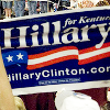 saviour ღ of ღ storybrooke: [Politics] -- Clinton; KY rally sign
