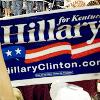 saviour ღ of ღ storybrooke: [Politics] -- Clinton; KY rally sign
