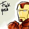 Pensive: iron man - fck yeah