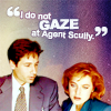 Lies maybe truth and truth may be lies...: (X-F) Does so gaze at Scully