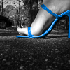 blue stiletto default