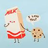 Ellie: stock~milk and cookies~