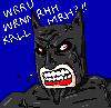 hewitt: batman; speaking bat
