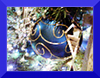 Leah Cutter: Blue ornament