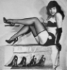 bettie page/shoes