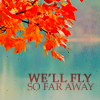 fly away fall autumn