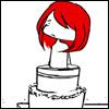 2R_sad dea in a cake ; ;