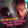 chuckles: merlin. operation spy