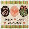 Holiday  - Peace Love Mistletoe