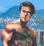 Dustin, Hrair-roo: Freeman art