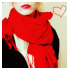 red avatar lips kiss heart love