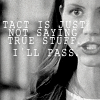 cordy is not tactful