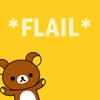 cutiedraco: bear *flail*