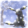 ★  Ashlee ★: umbreon - snow