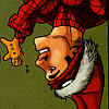 santa hat Spidey