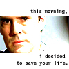 Tessa Gratton: Hotch decided to save your life