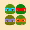 Ninja Turtles are cute