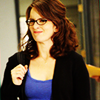 saviour ღ of ღ storybrooke: [Actress] -- Tina Fey; eeek