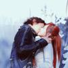 Smiling Pasta: He Qun and Xiao Shi kissing